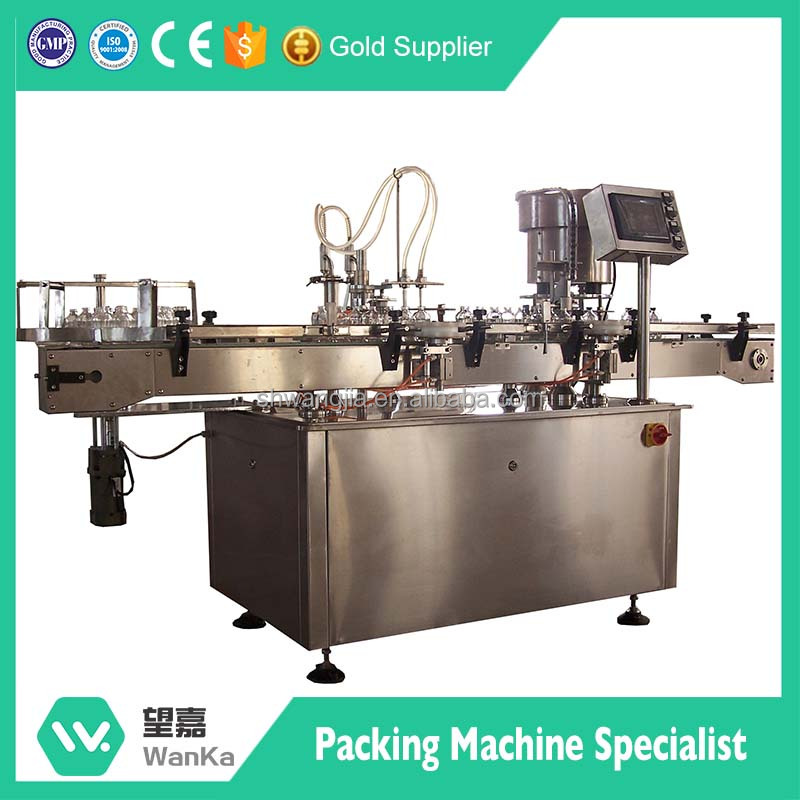 Economic trade assurance auto glass vial filling and sealing machine