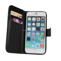 Novelty 2015 folio for iphone 6 case wallet alibaba china