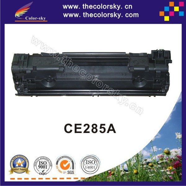 (CS-H285A) BK compatible toner printer cartridge for HP CE285A CE 285a 85a P1102 P1102W M1132 M1212 M1214 M1217