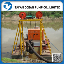 high quality submersible electric dredging boat
