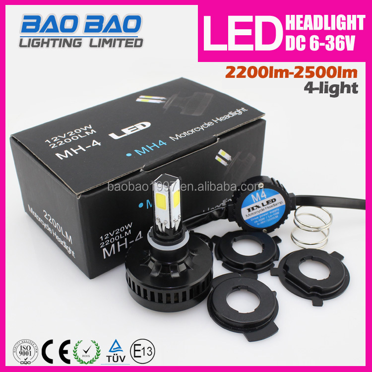 Hot new brighter Led motor headlight for motorcycle 2200lumen 18w--BAOBAO LIGHTING