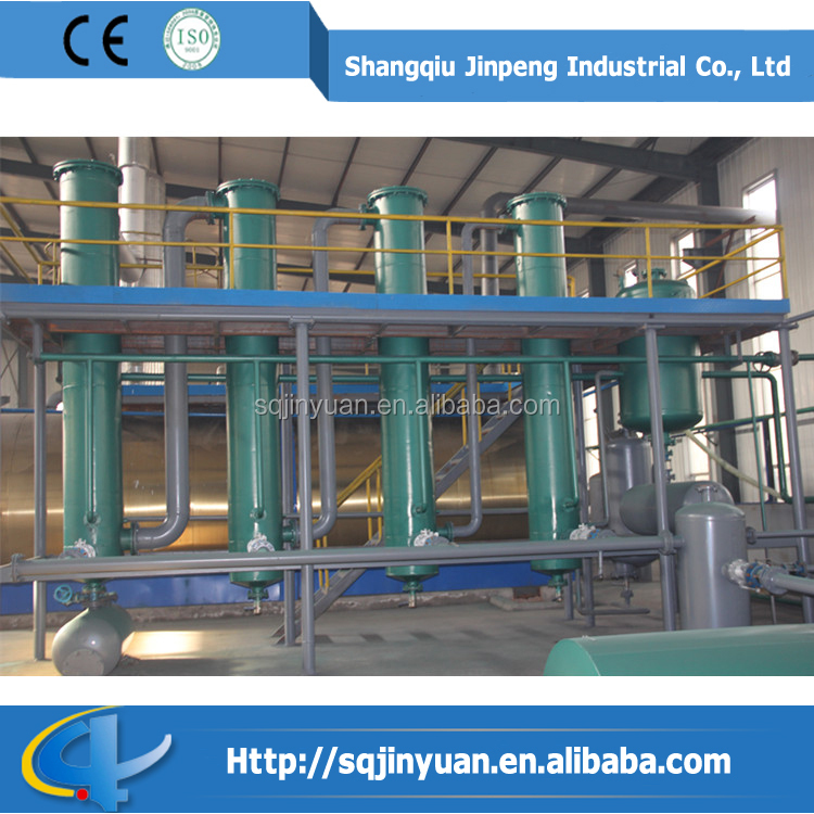 Automatic Waste Oil Recycle Waste Oil Filter Waste Oil Distillation Plant