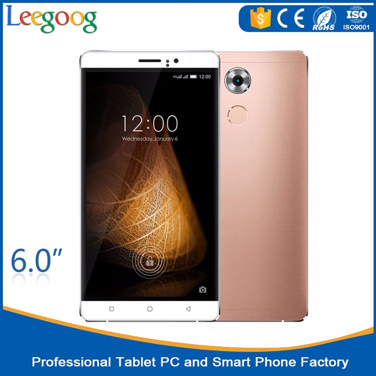 6.0 inch QHD 540*960 All Viewing Direction LCD mobile phone 2.0+5.0M Megapixel Camera smart phone