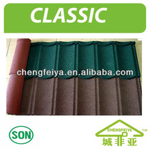 Building Material Red Metal Roof Tiles