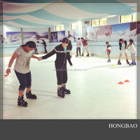 ice rink built mats/ hockey training boards/ 15mm pe pads