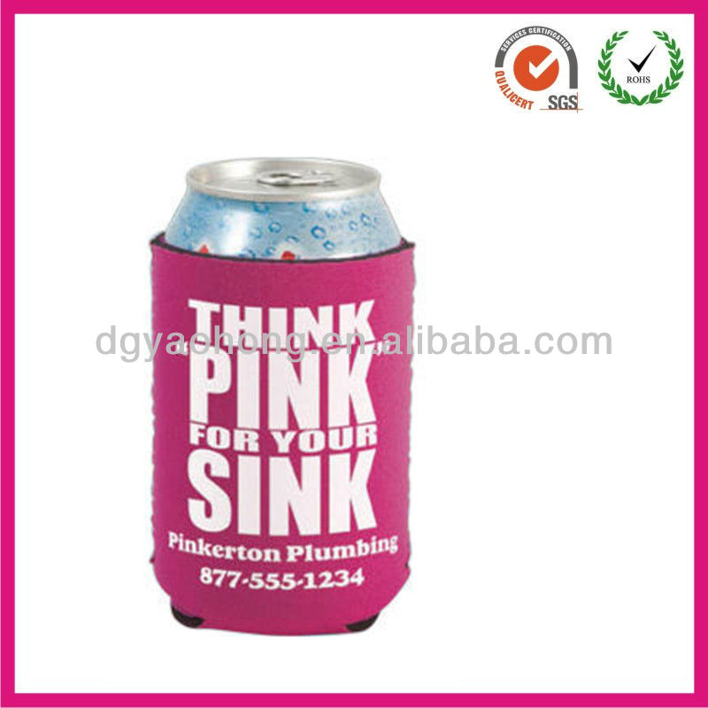 Wonderful foldable neoprene insulator snapple can cooler(factory)