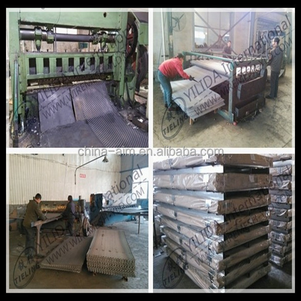 Expanded Metal Sheet For Architectural Screen For Building