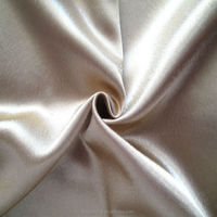 shining polyester satin fabric pajamas for women wear Shaoxing Manufacturer polyester spandex Satin fabrics