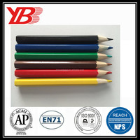 Customized 3.5''Colored Pencil, mini promotional color pencil set