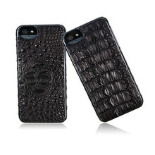 2013 fashion cover for iphon 5s black crocodile