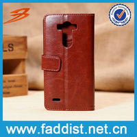 luxury wallet case for LG G3 Retro style