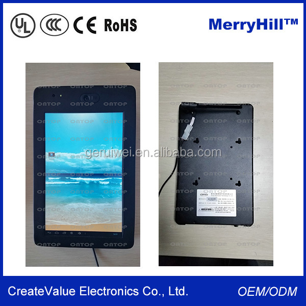 VESA Mounting 10 Inch Android 4.2.2 Tablet PC With Front And Back Camera