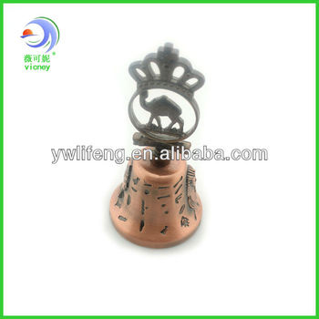 ceramic decorative dinner bell,dinner table bell