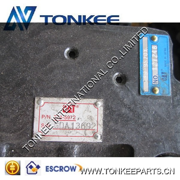 374-5972,349-9520 hydraulic travel motor,travel motor for excavator 312C,312D travel motor part