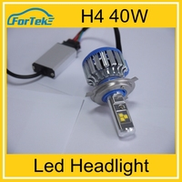Car Parts High Power 40W Cree Chip 4000LM H4 Car Led Headlight
