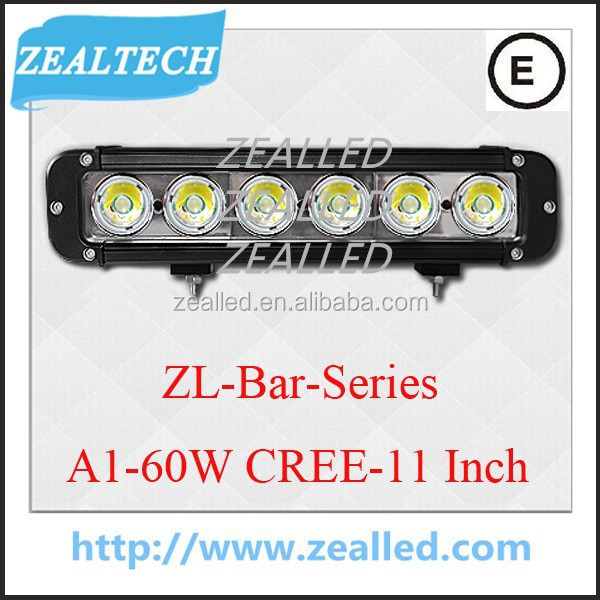 Good waterproof LED Bar For car Mount Kits A1 Series LED Bar 11inch 60W car Bar Made from C REE.XML.T6