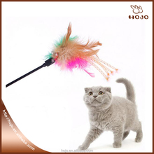 Pet Supplies Cat toys for training Cute Feather cat stick cat fishing pole