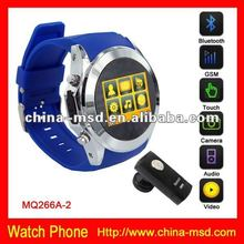 2012 innovational hand watch phone with GPRS, GSM, Bluetooth, TF card