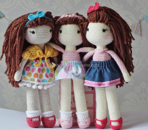 best selling products 2017 in usa hand knitted crochet doll handmade
