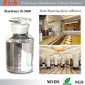 Clear epoxy hardener R-3600 for Stone repairing epoxy /color sand flooring/ epoxy AB glue