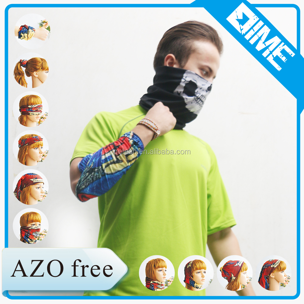 Hot new products for 2016 skull mask sportswear tube magic scarf