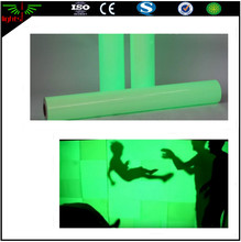 night glow rigid vinyl film / luminous film / glow in the dark film
