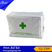 GJ-2309 Wholesale professional manufacture economical standard type custom nylon first-aid kit bags