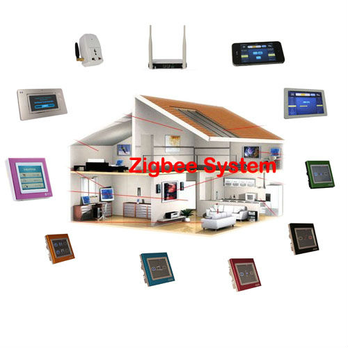 TAIYITO Fashionable and Stable smart phone control wireless domotica ZigBEE home automation system