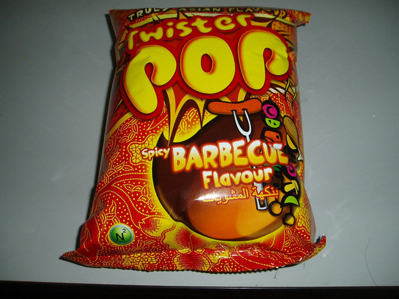 Twister Pop - Spicy Barbecue flavour