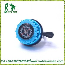 fashion bike bell old style compass lotus flower gifts