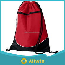 Promotional Backpack Style Polyester Material Gym Drawstring Bag