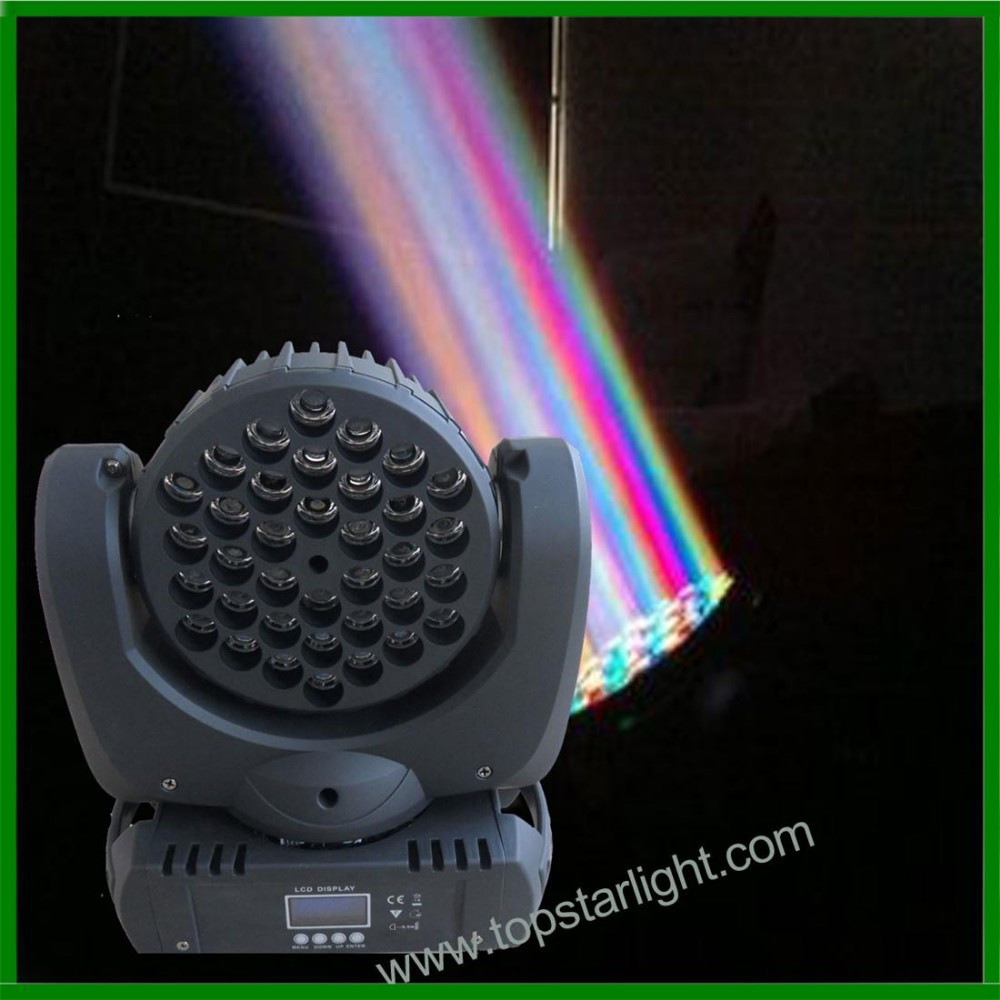 TSA016A 2015 Newest 36*<strong>3W</strong> <strong>led</strong> beam moving head lighting guangzhou stage lighting used moving head lights