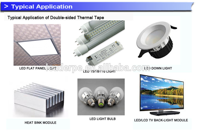 Thermal sheets Self adhesive Tape for heat conduction