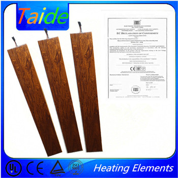 laminate wood floor thermostatic valve floor heating and floor heating system