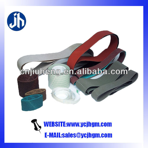 high quality joint abrasive belt low price for metal/wood/automotive