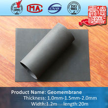 Construction material cheap price PE/EVA/ECB geomembrane pond liner