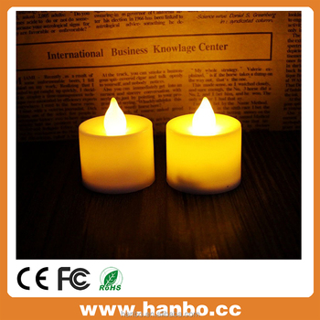 Battery led flameless tea light candle