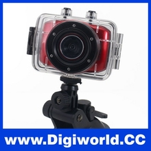 HD 720P Portable Video Camera Camcorder LCD Waterproof Mini Sport DV