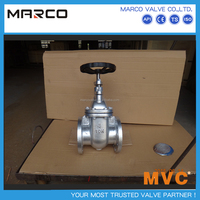High quality iron or steel material marine or water application ansi 150lb jis 10k sluice gate valve or larger