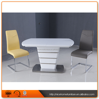 Hot Sell New Design Extension dining table chairs
