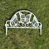 butterfly shape plastic decorative lawn edging