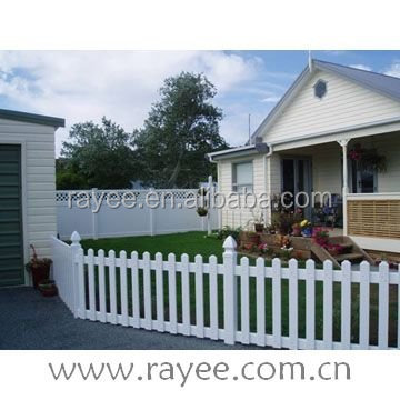 Top Quality New Design PVC/Vinyl/Plastic Outdoor Portable/Temporary Fence/pvc recinzione, blanco cerca de vinilo