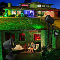 UL certificate star show laser light enchanted forest christmas lights waterproof