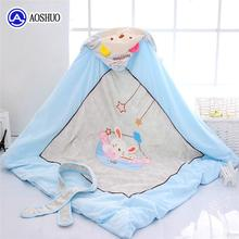 Throw Totoro Muslin Swaddle Woven Baby Custom Egyptian Got Certified Cotton Terry Cloth Blanket