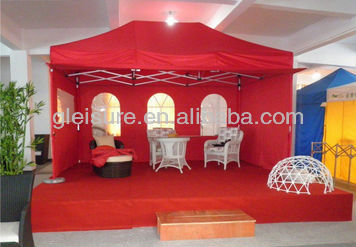Luxury Tents, Event Tent, Professional Aluminum Folding Gazebo With Custom Printing
