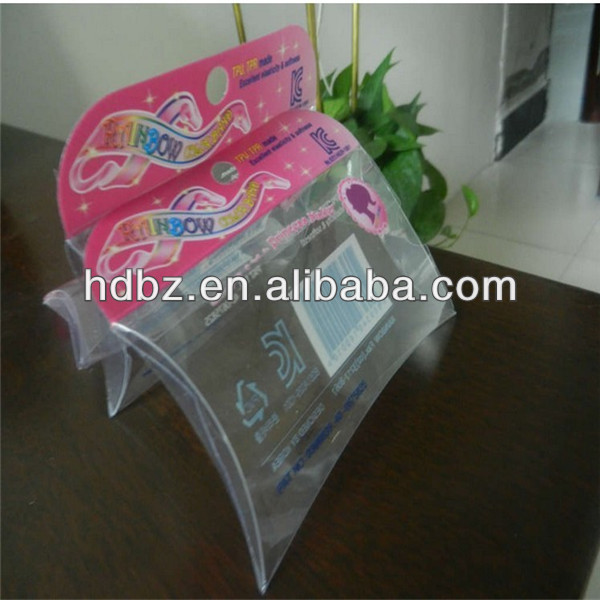 very small pillow plastic boxes/seashell plastic box