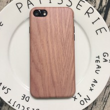 2017New Printing Wood Grain Cover Back for iphone6/6s Mobile Phone Accessory for iphone 6 plus Cover Case IMD Case