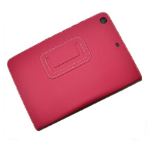 15046 Cross pattern leather tablet case tablet holder tablet cover for Ipad Mini in hot selling