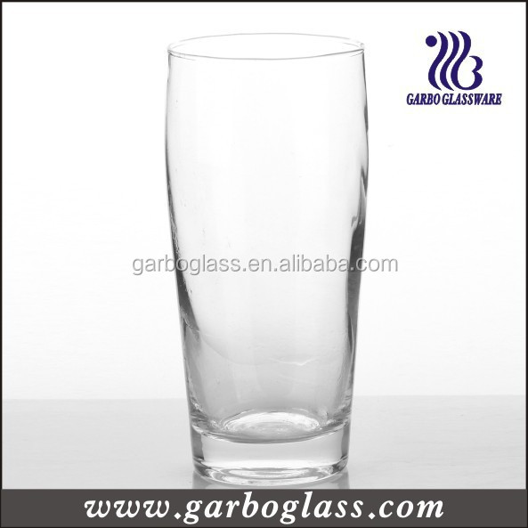 Cheap Beer Steins for Bar/Club Use, Glass Beer Cup/Blown Glass Tumbler