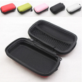 Protective Usb cable organizer Headphone case Mini Box for earphone pouch box